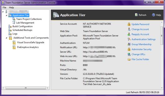 tfs-admin-console