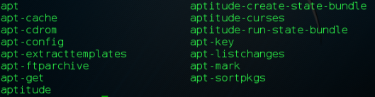 apt-command-variations