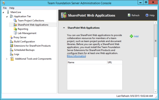 tfs-admin-sharepoint-web-applications
