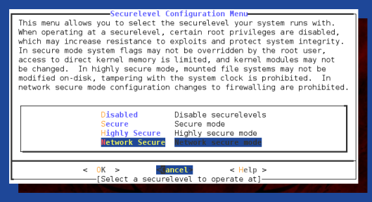 freebsd-bsdconfig-securelevels