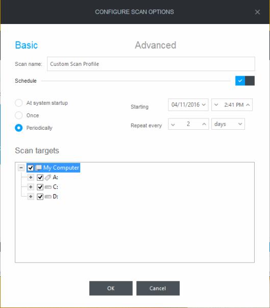 bitdefender-create-scan-profile