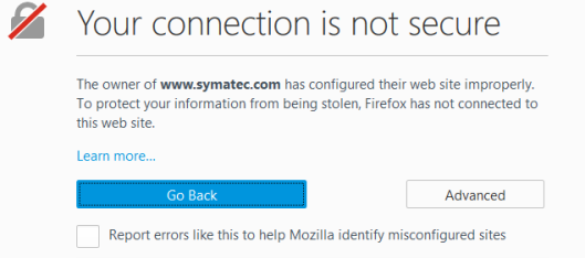 firefox-insecure-connection