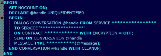 stored-procedure-send