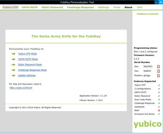 YubiKey | The Krypt