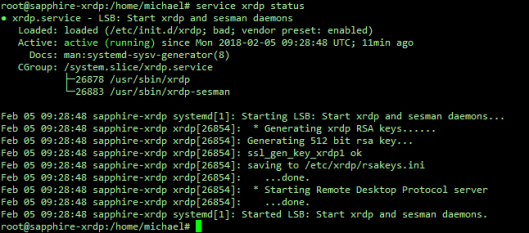Setting Up a Linux Virtual Machine to Allow XRDP Sessions